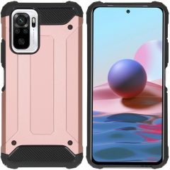 iMoshion Rugged Xtreme Backcover Xiaomi Redmi Note 10 Pro - Rosé Goud
