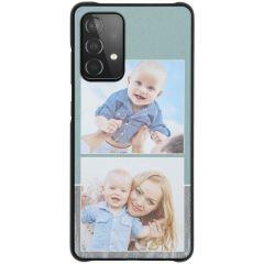Ontwerp je eigen Galaxy A52 5G/A52 4G hardcase hoesje -Zwart
