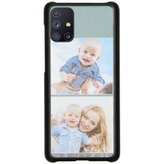 Ontwerp je eigen Samsung Galaxy M51 hardcase hoesje - Zwart