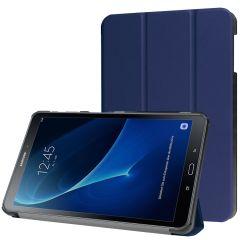 iMoshion Trifold Bookcase Galaxy Tab A 10.1 (2016) - Donkerblauw