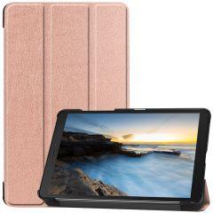 iMoshion Trifold Bookcase Galaxy Tab A 8.0 (2019) - Rosé Goud