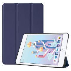 iMoshion Trifold Bookcase iPad mini (2019) / Mini 4 - Donkerblauw