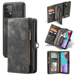 CaseMe Luxe Lederen 2in1 Portemonnee Booktype Galaxy A52(s) (5G/4G)