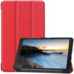 iMoshion Trifold Bookcase Galaxy Tab A 8.0 (2019) - Rood