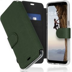Accezz Xtreme Wallet Booktype Samsung Galaxy S8 - Donkergroen