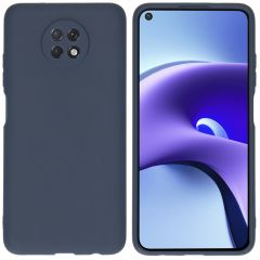 iMoshion Color Backcover Xiaomi Redmi Note 9T (5G) - Donkerblauw