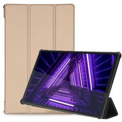 iMoshion Trifold Bookcase Lenovo Tab M10 Plus / M10 FHD Plus - Goud