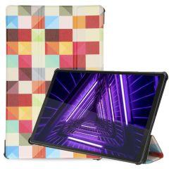 iMoshion Design Trifold Bookcase Lenovo Tab M10 Plus / M10 FHD Plus