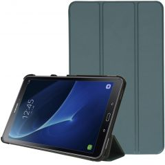 iMoshion Trifold Bookcase Galaxy Tab A 10.1 (2016) - Donkergroen