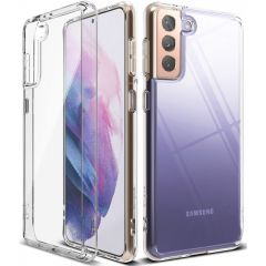 Ringke Fusion Backcover Samsung Galaxy S21 - Transparant