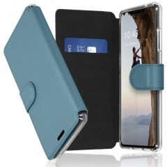 Accezz Xtreme Wallet Booktype iPhone X / Xs - Lichtblauw