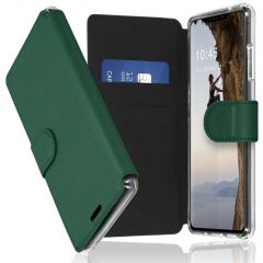 Accezz Xtreme Wallet Booktype iPhone X / Xs - Donkergroen
