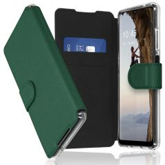 Accezz Xtreme Wallet Booktype Samsung Galaxy A32 (5G) - Donkergroen