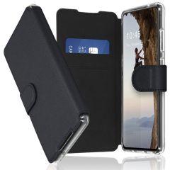 Accezz Xtreme Wallet Booktype Samsung Galaxy S21 Ultra - Zwart