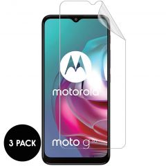 iMoshion Screenprotector Folie 3 pack Motorola Moto G30 / G20 / G10 (Power)