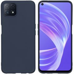 iMoshion Color Backcover Oppo A73 (5G) - Donkerblauw