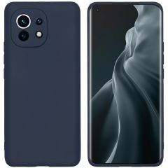 iMoshion Color Backcover Xiaomi Mi 11 - Donkerblauw