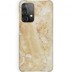Selencia Fashion Backcover Galaxy A52 (5G) / A52 (4G) - Marble Sand