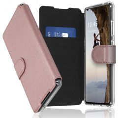 Accezz Xtreme Wallet Booktype Galaxy S21 Ultra - Rosé Goud