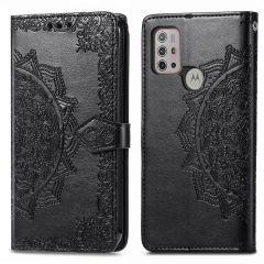 iMoshion Mandala Booktype Motorola Moto G30 / G20 / G10 (Power) - Zwart