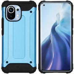 iMoshion Rugged Xtreme Backcover Xiaomi Mi 11 - Lichtblauw