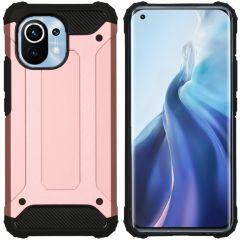 iMoshion Rugged Xtreme Backcover Xiaomi Mi 11 - Rosé Goud