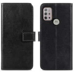 iMoshion Luxe Booktype Motorola Moto G30 / G20 / G10 (Power) - Zwart