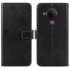 iMoshion Luxe Booktype Nokia 5.4 - Zwart
