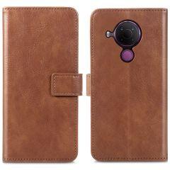 iMoshion Luxe Booktype Nokia 5.4 - Bruin
