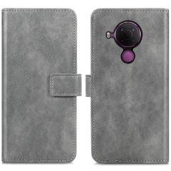 iMoshion Luxe Booktype Nokia 5.4 - Grijs