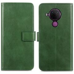 iMoshion Luxe Booktype Nokia 5.4 - Groen