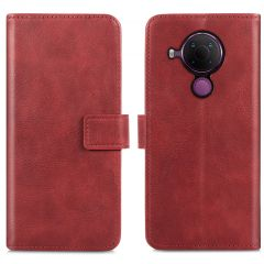 iMoshion Luxe Booktype Nokia 5.4 - Rood