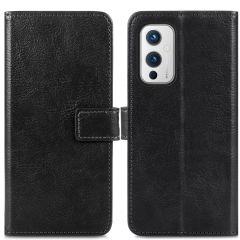 iMoshion Luxe Booktype OnePlus 9 - Zwart