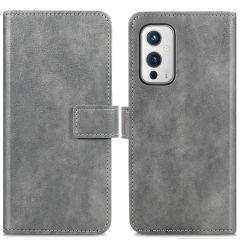 iMoshion Luxe Booktype OnePlus 9 - Grijs