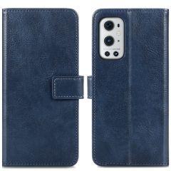 iMoshion Luxe Booktype OnePlus 9 Pro - Donkerblauw