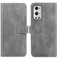 iMoshion Luxe Booktype OnePlus 9 Pro - Grijs
