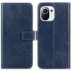 iMoshion Luxe Booktype Xiaomi Mi 11 - Donkerblauw