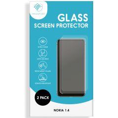 iMoshion Screenprotector Gehard Glas 2 pack Nokia 1.4