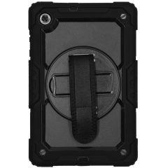 Extreme Backcover met strap Lenovo Tab M10 FHD Plus - Zwart