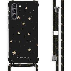 iMoshion Design hoesje met koord Galaxy S21 Plus - Sterren