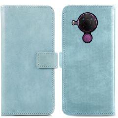 iMoshion Luxe Booktype Nokia 5.4 - Lichtblauw