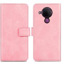 iMoshion Luxe Booktype Nokia 5.4 - Roze