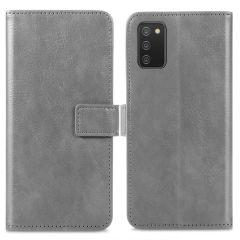 iMoshion Luxe Booktype Samsung Galaxy A02s - Grijs