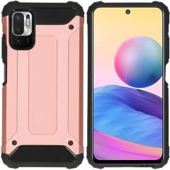 iMoshion Rugged Xtreme Backcover Xiaomi Redmi Note 10 (5G) -Rosé Goud