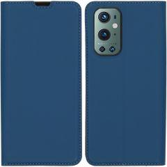 iMoshion Slim Folio Book Case OnePlus 9 Pro - Donkerblauw
