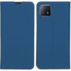 iMoshion Slim Folio Book Case Oppo A73 (5G) - Donkerblauw