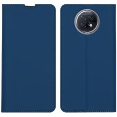 iMoshion Slim Folio Book Case Xiaomi Redmi Note 9T (5G) - Donkerblauw