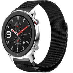 iMoshion Milanees Watch bandje Amazfit GTR - Zwart