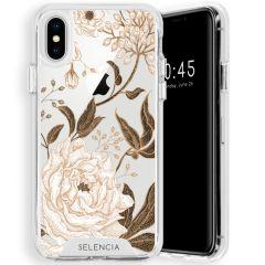 Selencia Zarya Fashion Extra Beschermende Backcover iPhone Xs / X
