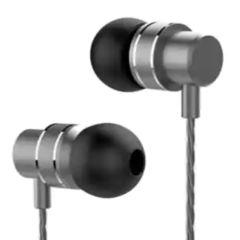 Lenovo HF118 Metal In-Ear Headphones - Zwart